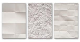 Textura de papel atolada Imagem de Stock Royalty Free