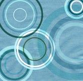 Textura de papel com círculos ilustração royalty free