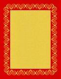 Textura de papel com elementos decorativos Fotografia de Stock Royalty Free