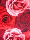 Textura de papel com flores foto de stock