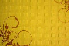Textura de papel com ornamento Fotos de Stock