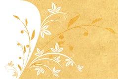 Textura de papel com teste padrão Imagem de Stock Royalty Free