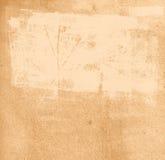 Textura de papel con las marcas de la pintura fotos de archivo