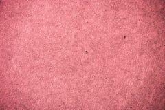 Textura de papel cor-de-rosa Imagens de Stock