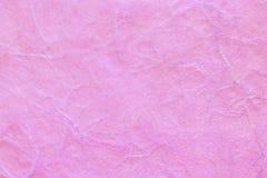Textura de papel cor-de-rosa, fibra macia Imagens de Stock Royalty Free
