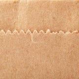 Textura de papel de empaquetado con la costura como fondo abstracto Imagen de archivo