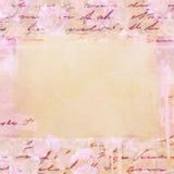 Textura de papel de la vendimia Fotos de archivo libres de regalías