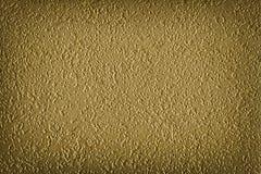 Textura de papel de oro del fondo Foto de archivo libre de regalías