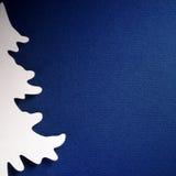 Textura de papel del fondo de la Navidad, tema del papercraft Fotos de archivo libres de regalías
