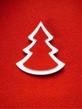 Textura de papel del fondo de la Navidad, tema del papercraft Fotografía de archivo libre de regalías