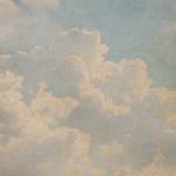 Textura de papel do céu Imagens de Stock