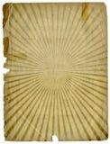 Textura de papel do fundo de Grunge do Sunbeam Fotografia de Stock Royalty Free