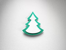 Textura de papel do fundo do Natal, tema do papercraft Imagem de Stock Royalty Free