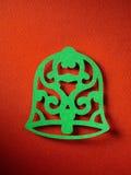Textura de papel do fundo do Natal, tema do papercraft Imagens de Stock Royalty Free