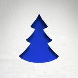 Textura de papel do fundo do Natal, tema do papercraft Imagem de Stock