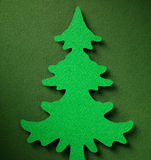 Textura de papel do fundo do Natal, tema do papercraft Fotos de Stock Royalty Free