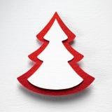 Textura de papel do fundo do Natal, tema do papercraft Foto de Stock
