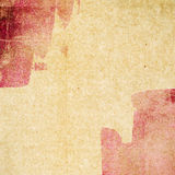 Textura de papel do Grunge, fundo do vintage Imagens de Stock