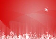Textura de papel do Natal Imagens de Stock