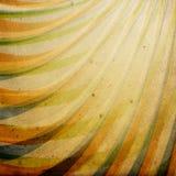 A textura de papel do vintage decorou o ornamento. ilustração stock