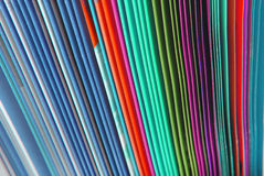 Textura de papel dos dobradores Fotografia de Stock Royalty Free