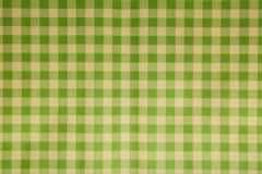 Textura de papel en un a cuadros Foto de archivo libre de regalías