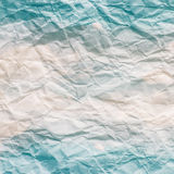 Textura (de papel) enrugada Imagens de Stock