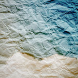 Textura (de papel) enrugada Imagem de Stock