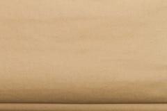 Textura (de papel) enrugada Fotografia de Stock Royalty Free