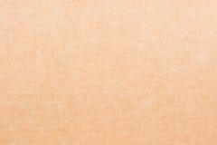 Textura (de papel) enrugada close up da folha do papel marrom Fotos de Stock