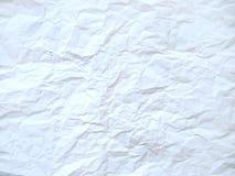 Textura de papel esmagada Imagens de Stock