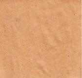 Textura de papel - folha do papel marrom Fotos de Stock