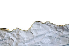 Textura de papel queimada imagem de stock royalty free