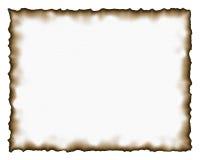 Textura de papel queimada ilustração do vetor