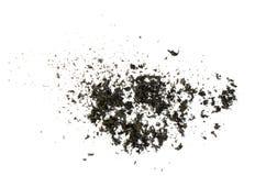 Textura de papel queimada da cinza Imagem de Stock