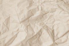 Textura de papel reciclada natural Papel vazio da textura do jornal velho Fotografia de Stock Royalty Free