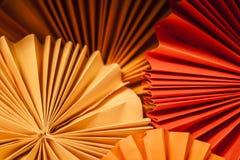 Textura de papel redonda Fotografia de Stock Royalty Free