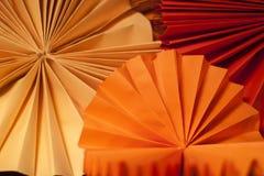 Textura de papel redonda Imagens de Stock Royalty Free