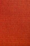 Textura de papel roja Foto de archivo libre de regalías