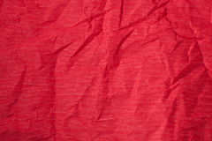 Textura de papel rojo Foto de archivo libre de regalías