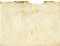 Textura de papel velha imagem de stock