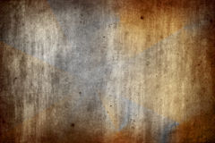 Textura de papel velha e gasta Fotos de Stock
