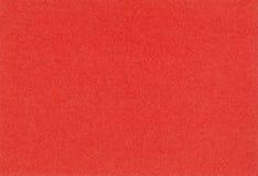 Textura de papel vermelha Fotos de Stock