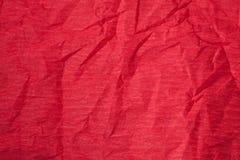 Textura de papier rouge Photo libre de droits