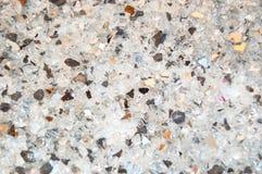 Textura de partes de vidro quebradas, fundo preto e branco do brilho do pagamento Os feriados, Natal, Valentim, amam a textura ab Fotos de Stock