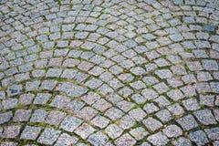 Textura de pavimentação de pedra. Estrutura abstrata Imagens de Stock