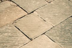 Textura de pavimentação de pedra antiga fotografia de stock