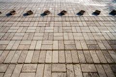 Textura de pavimentación concreta Imagen de archivo