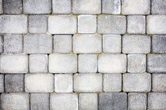 Textura de pavimentación concreta Imagen de archivo libre de regalías