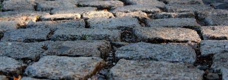 Textura de pavimentación de piedra Extracto estructurado Foto de archivo libre de regalías